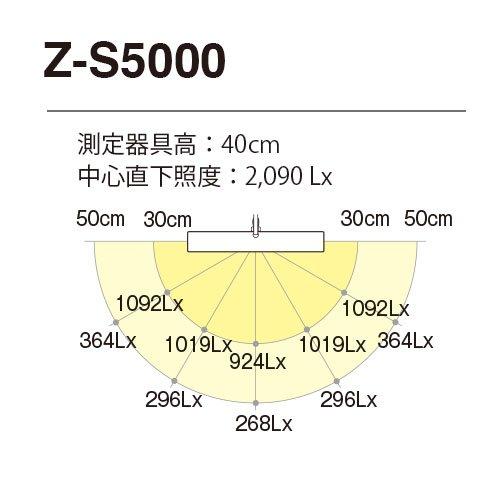 【新品】 Z-LIGHT LEDデスクライト シルバー 大型デスクライト Z-S5000SL