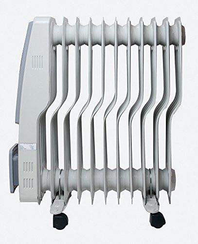【新品】 TEKNOS オイルヒーター 11枚フィン デジタル表示 TOH-D1101