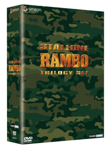 【新品】 ランボー トリロジーセット―『ランボー 最後の戦場』公開記念スペシャル・プライス版】―(初回限定生産) [DVD]