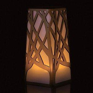 【新品】 LEDで炎の揺らめきを再現 テーブルキャンドル ロングタイプ