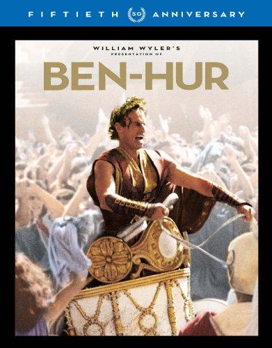 【新品】 ベン・ハー 製作50周年記念 アルティメット・コレクターズ・エディション(3枚組)【初回限定生産】 [Blu-ray]
