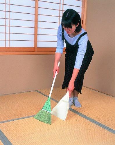 【新品】 アズマ 『天然素材の室内用ほうき』 チリトリ付き座敷ホーキL