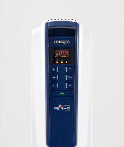 【新品】 デロンギ オイルヒーター ドラゴンデジタル スマート X字型フィン7枚 3~8畳用 QSD0712-MB
