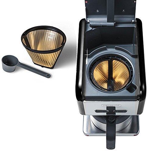 【新品】 DeLonghi(デロンギ)kMix Collection ドリップコーヒーメーカー プレミアム 「CMB5T」 ブラック CMB5TBK
