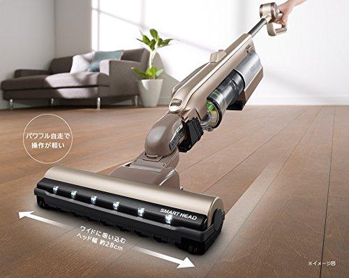 【新品】 日立 コードレス パワーブーストサイクロン スティッククリーナー シャンパンゴールド PV-BC500 N