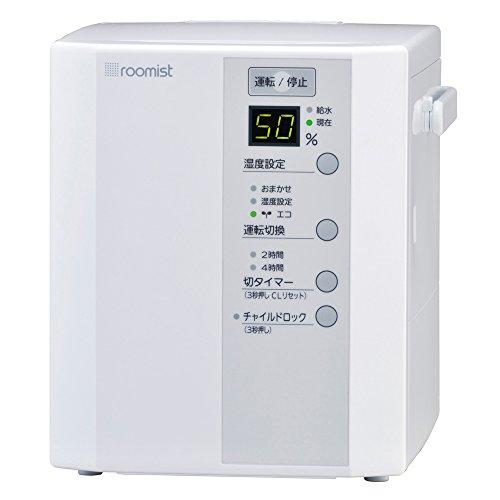 【新品】 三菱重工 roomist スチームファン蒸発式加湿器 ホワイト SHE35MD-W