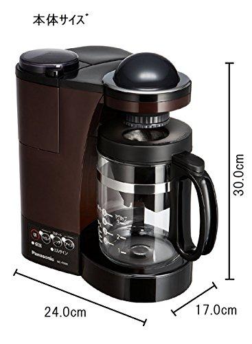 【新品】 パナソニック ミル付き浄水コーヒーメーカー ブラウン NC-R500-T