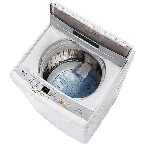 【新品】 アクア 4.5kg 全自動洗濯機 ホワイトAQUA AQW-S45E-W