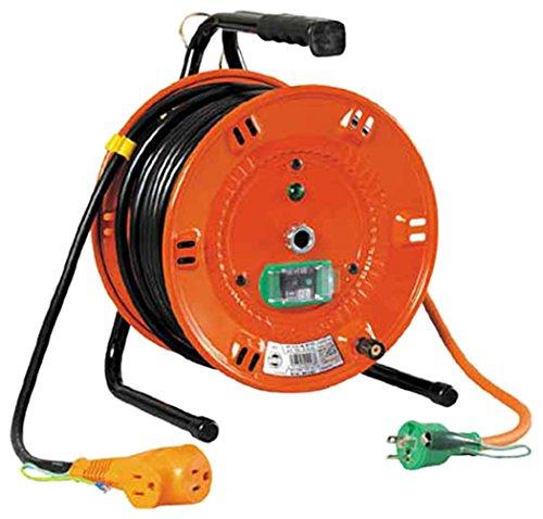【新品】 日動 電工ドラム びっくリール 100V アース漏電しゃ断器付 30m NLEB30S