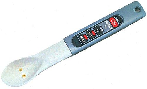 【新品】 TANITA しおみスプーン(防滴タイプ) 電子塩分計 グレー 6302
