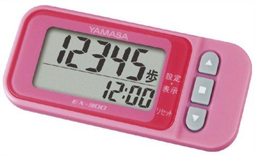 【新品】 山佐(YAMASA) 万歩計 ポケット万歩 らくらくまんぽ ピンク EX-300P