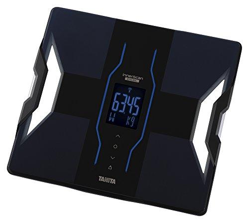 【新品】 タニタ 体重・体組成計 インナースキャンデュアル スマホ対応 ブラック RD-907‐BK