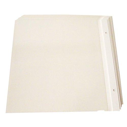 【新品】 ナカバヤシ フリーアルバム替台紙 Lサイズ 10枚セット 37477