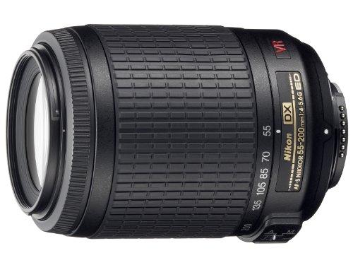 【新品】 Nikon 望遠ズームレンズ AF-S DX VR Zoom Nikkor 55-200mm f/4-5.6G IF-ED ニコンDXフォーマット専用