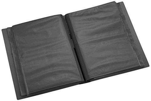 【新品】 ナカバヤシ ファイル ポケットアルバム イージーストッカーMP 2L判 ブラック アカ-MP2L-80 N-D