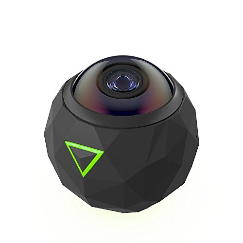【新品】 360fly 4K VRアクションカメラ 4K対応 360°動画・静止画 64GB内蔵メモリー搭載 FL364KZ111