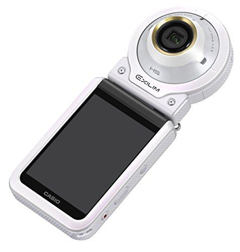 バーゲンで 【新品】 CASIO デジタルカメラ EXILIM EX-FR100LWE カメラ部/モニター部分離 セルフィーが簡単 3つのこだわり自分撮り機能, 安眠ふとんのこだま 1ebe66cf