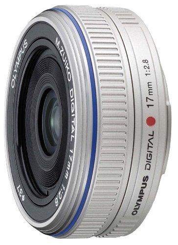 【新品】 OLYMPUS パンケーキレンズ M.ZUIKO DIGITAL 17mm F2.8 シルバー