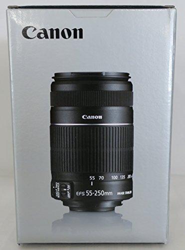 【新品】 Canon 望遠ズームレンズ EF-S55-250mm F4-5.6 IS II APS-C対応