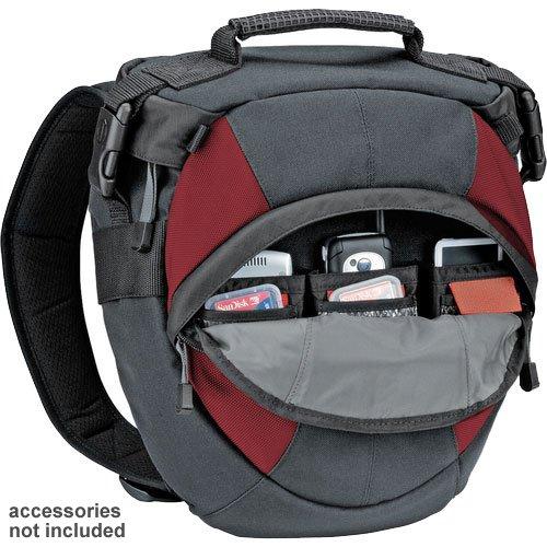 【新品】 tamrac カメラリュック 9.4L 片肩掛用 グレー・バーガンディー 5768 030040