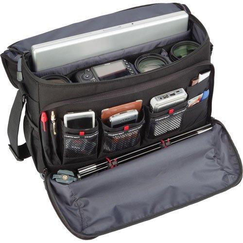【新品】 tamrac ショルダーバッグ ズマシリーズ 11L タブレットスペース有 ブラック×グレー 5725