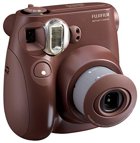 【新品】 FUJIFILM インスタントカメラ チェキ instax mini 7S チョコ INS MINI 7S CH K