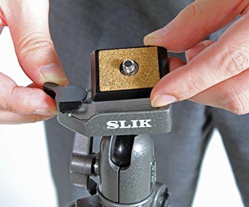 【新品】 SLIK 三脚 スプリント MINI II GM N 4段 旅行用三脚 106556
