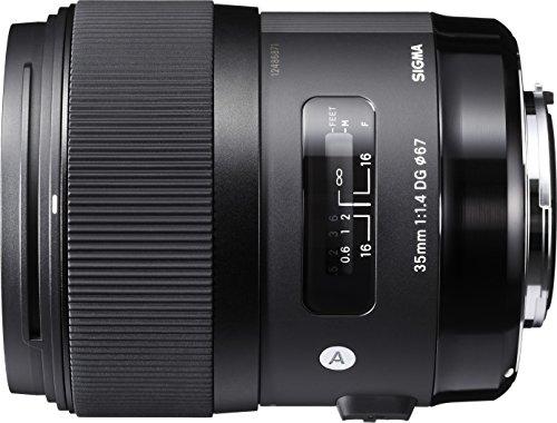 【新品】 SIGMA 単焦点広角レンズ Art 35mm F1.4 DG HSM キヤノン用 フルサイズ対応 340544