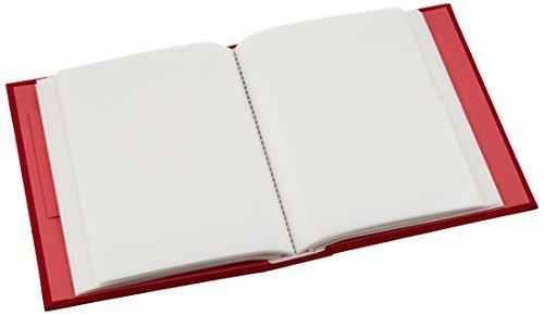 【新品】 SEKISEI アルバム ポケット ハーパーハウス フレームアルバム Lサイズ 200枚収容 L 151~200枚 布 レッド XP-3250