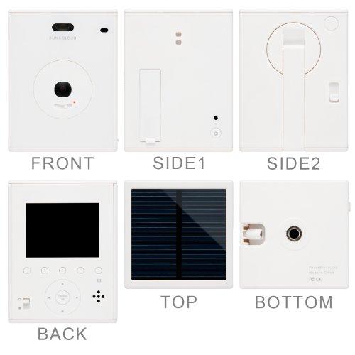 【新品】 Powershovel デジタルカメラ SUN&CLOUD 300万画素 マルチチャージャブルカメラ ホワイト 3107W