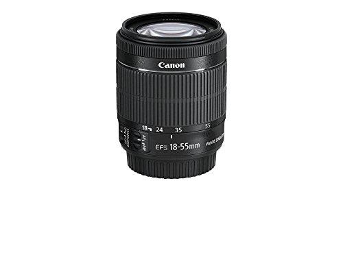 【新品】 Canon 標準ズームレンズ EF-S18-55mm F3.5-5.6 IS STM APS-C対応