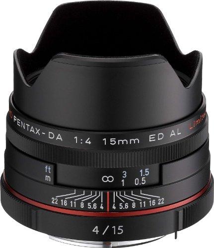 【新品】 PENTAX リミテッドレンズ 超広角単焦点レンズ HD PENTAX-DA15mmF4ED AL Limited ブラック Kマウント APS-Cサイズ 21470