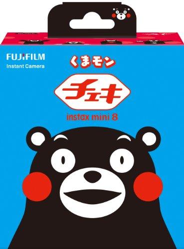 【新品】 FUJIFILM インスタントカメラ チェキ instax mini 8 くまモン INS MINI 8 KUMAMON
