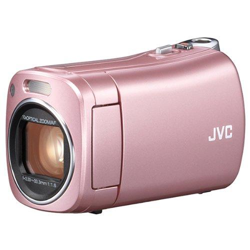 【新品】 JVC KENWOOD JVC ビデオカメラ BabyMovie 内蔵メモリー32GB ピンク GZ-N5-P