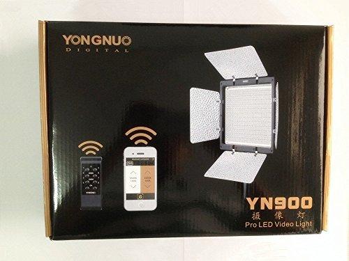 【新品】 Yongnuo YN-900 LEDビデオライト900球のLEDを搭載 カメラ&ビデオカメラ用 (AC電源アダプター付き 5500Kのみ)