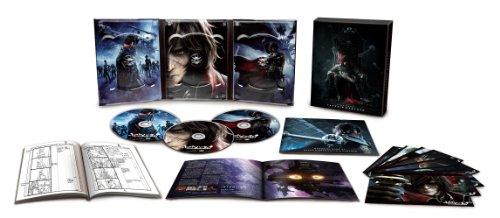 【新品】 キャプテンハーロック 完全初回限定生産 特別装飾版Blu-ray 3枚組