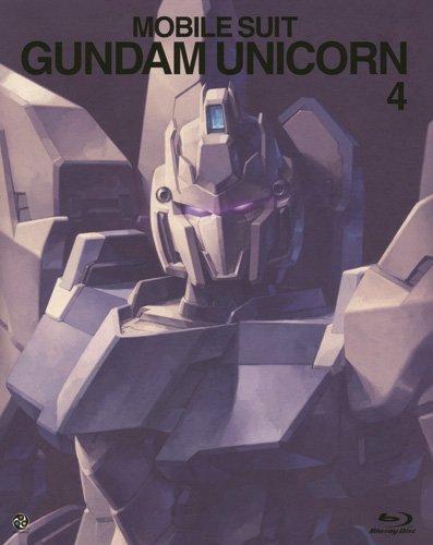 【新品】 機動戦士ガンダムUC 4(ガンダム 35thアニバーサリー アンコール版) [Blu-ray]