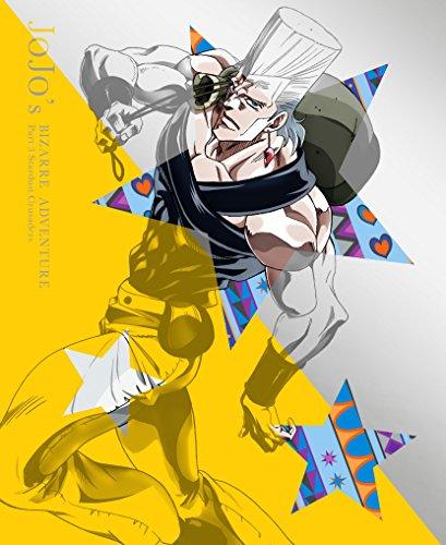 【新品】 ジョジョの奇妙な冒険スターダストクルセイダース Vol.4 (肉の芽型イヤフォン付)(初回生産限定版) [Blu-ray]