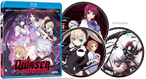 【新品】 聖痕のクェイサー:シーズン1-2+OVA コンプリート・シリーズ・コレクション 北米版 / Qwaser of Stigmata: Complete Collection [Blu-ray][Impor