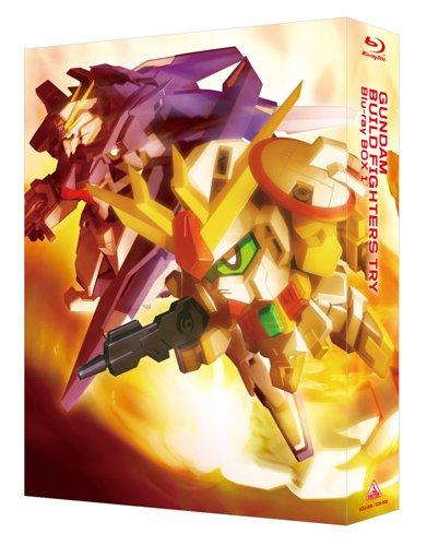 【新品】 ガンダムビルドファイターズトライ Blu-ray BOX 1(スタンダード版)(期間限定生産)