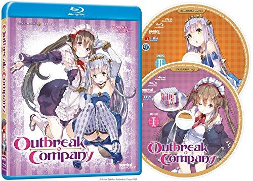 【新品】 アウトブレイク・カンパニー:コンプリート・コレクション 北米版 / Outbreak Company: Complete Collection [Blu-ray][Import]