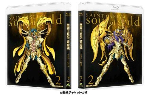【新品】 聖闘士星矢 黄金魂 -soul of gold- 2 [Blu-ray]