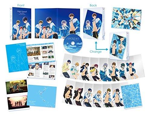 【新品】 映画 ハイ☆スピード!-Free! Starting Days-(初回限定版) [DVD]