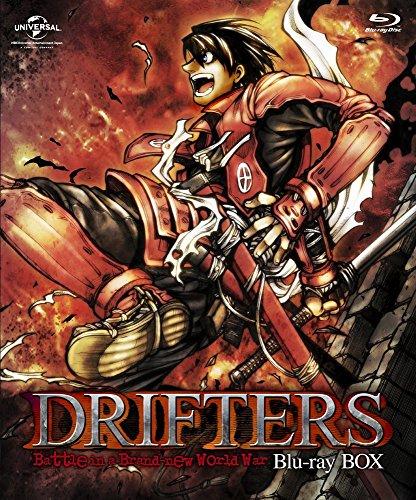 【新品】 DRIFTERS Blu-ray BOX(特装限定生産)