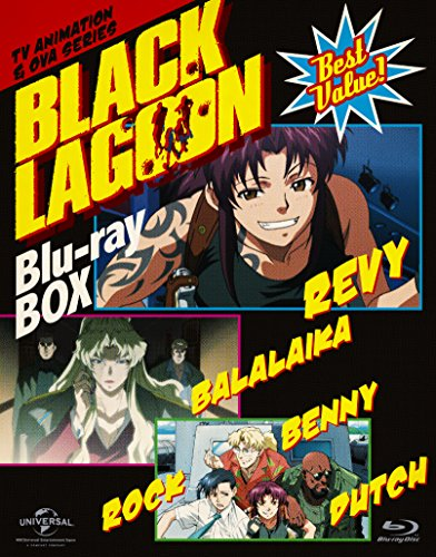 【新品】 BLACK LAGOON Blu-ray BOX