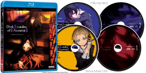 【新品】 Dusk Maiden of Amnesia Complete Collection [Blu-ray] [Import]