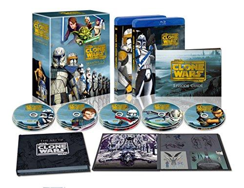 【新品】 スター・ウォーズ:クローン・ウォーズ シーズン1-5 コレクターズエディション (14枚組) [Blu-ray]