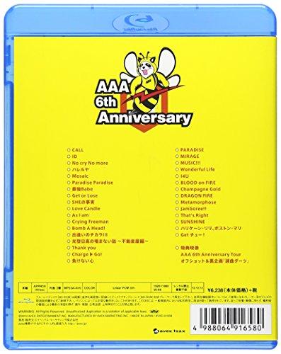 【新品】 AAA 6th Anniversary Tour 2011.9.28 at Zepp Tokyo [Blu-ray]