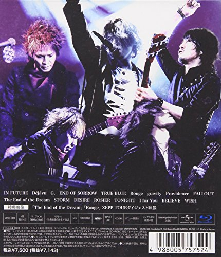 【新品】 The End of the Dream ZEPP TOUR 2012「降臨」 [Blu-ray]