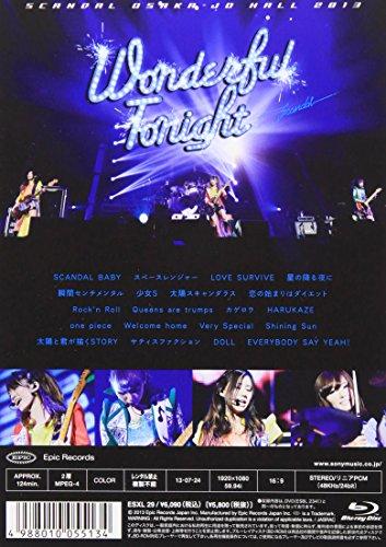 【新品】 SCANDAL OSAKA-JO HALL 2013「Wonderful Tonight」 [Blu-ray]
